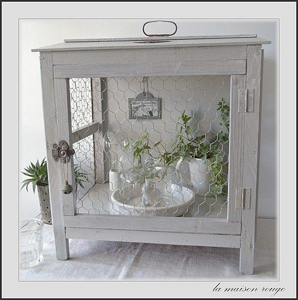 garde manger la maison rouge d co pinterest printemps apparence lim e et cageots. Black Bedroom Furniture Sets. Home Design Ideas