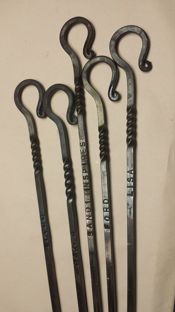 Fire Poker Blacksmith Forged 24 Or 36 Have Any By
