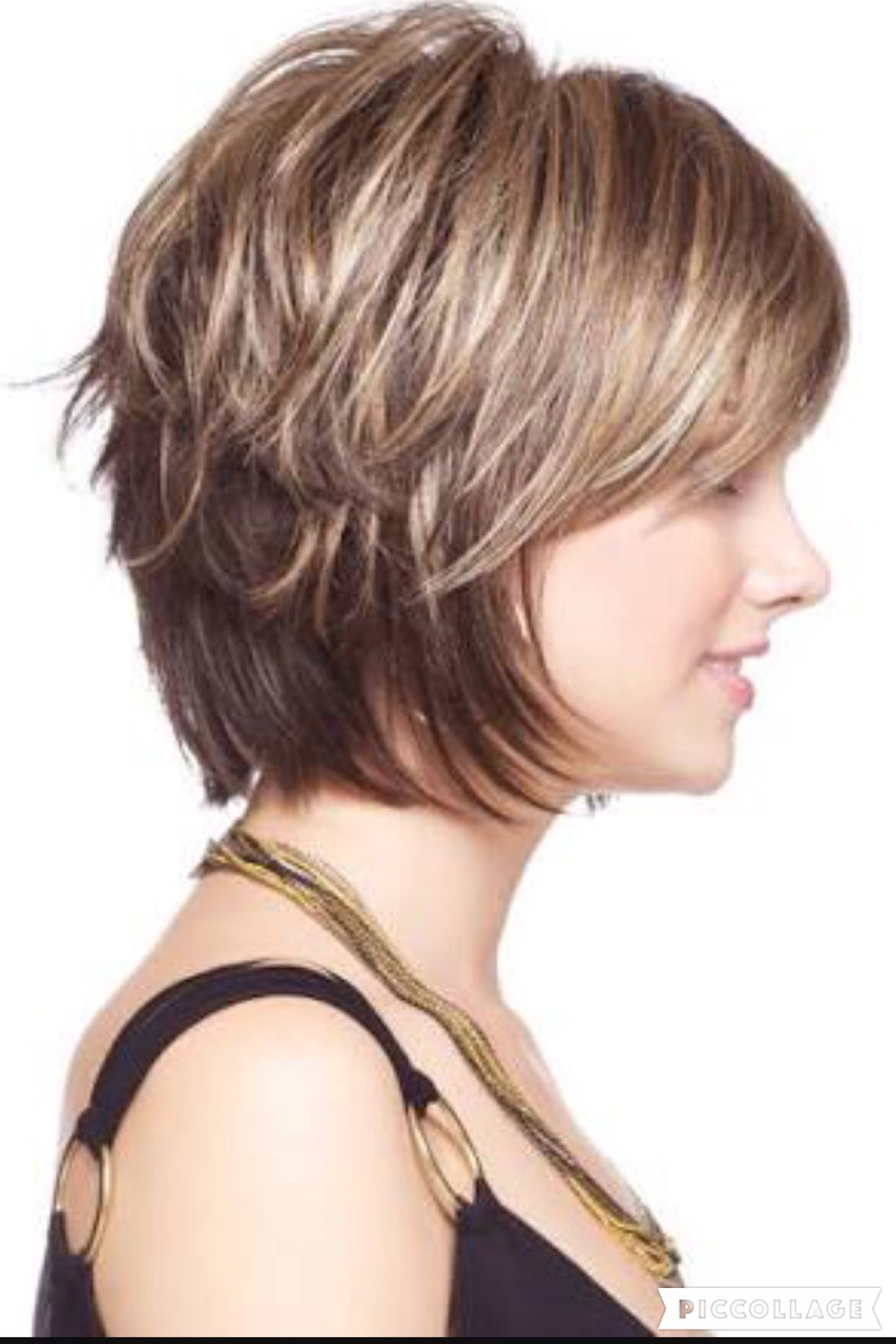 Diagonal Forward Hairstyles Bobs Colors And Curls On