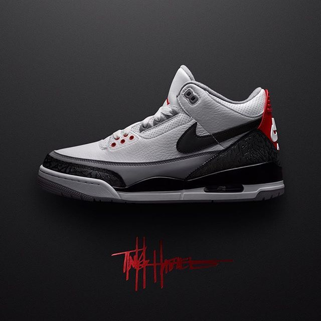"""... Release details for the Air Jordan 3 """"Tinker Hatfield"""" on SNKRS has  been updated ... add4618dec"""