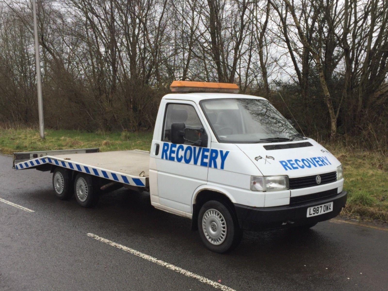 Ebay Vw T4 Transporter Lwb 2 4sel Recovery Truck Twin Rear Axles All Aluminium Bed 1990s Cars