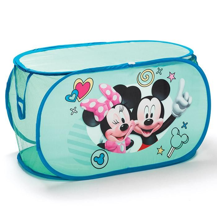 Avon Living Disney Mickey Mouse & Minnie Mouse Pop-Up Storage Chest  - Regular price $19.99 | AVON – Avon Living – Kids Room Decor – Shop Avon Living Kids Room Decor products at:  https://www.avon.com/category/avon-living/kids?rep=barbieb #disney #minniemouse #mickeymouse #popup #storagechest #avonliving #kidscorner #avonrep