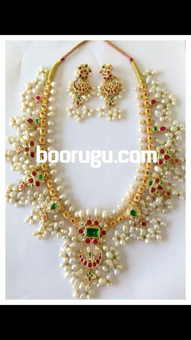 Pin by Sarika Boorugu on Jewellery | Pinterest | Bridal jewelry ...