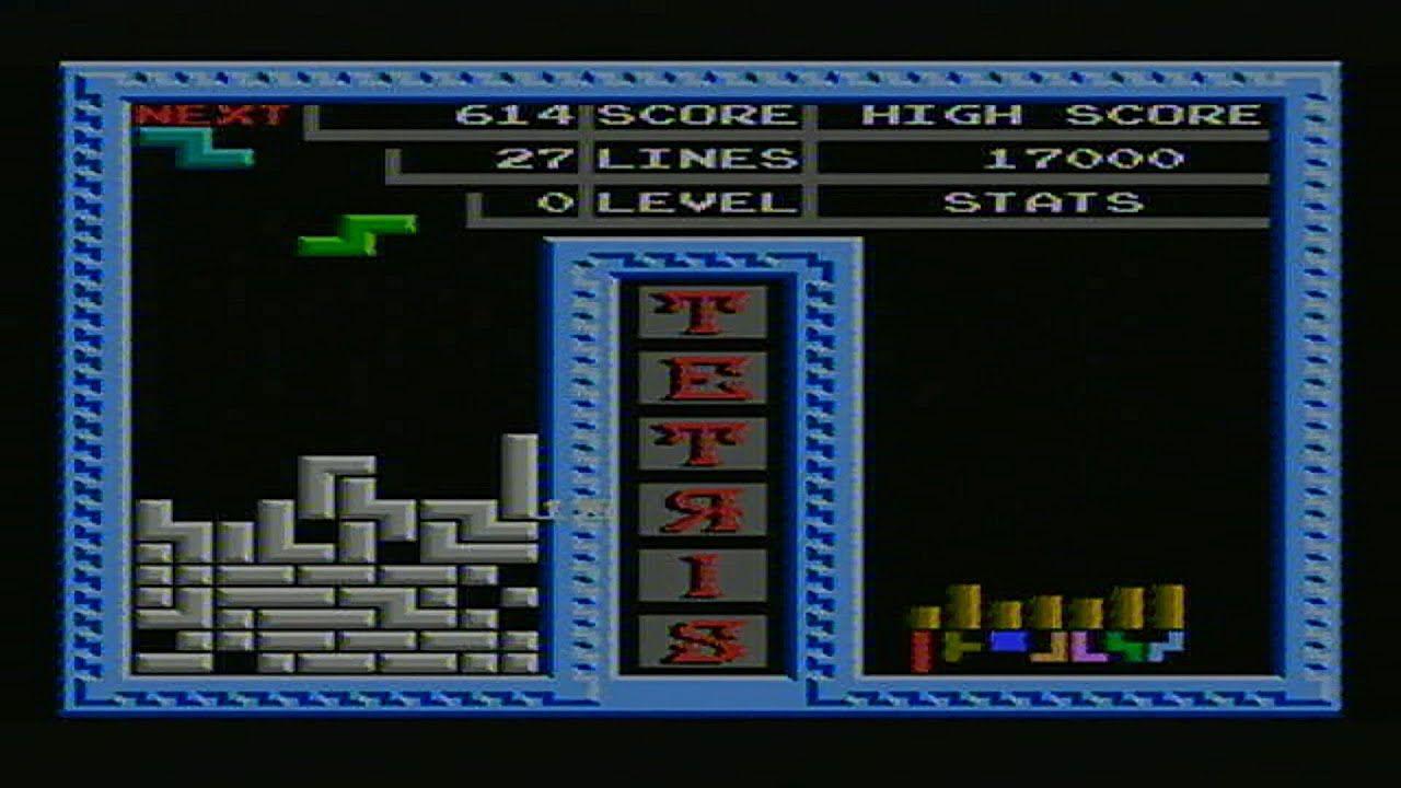 Tetris Played Badly Super Joystick Tv Game 76 In 1 In 2020 Tetris Games Joystick