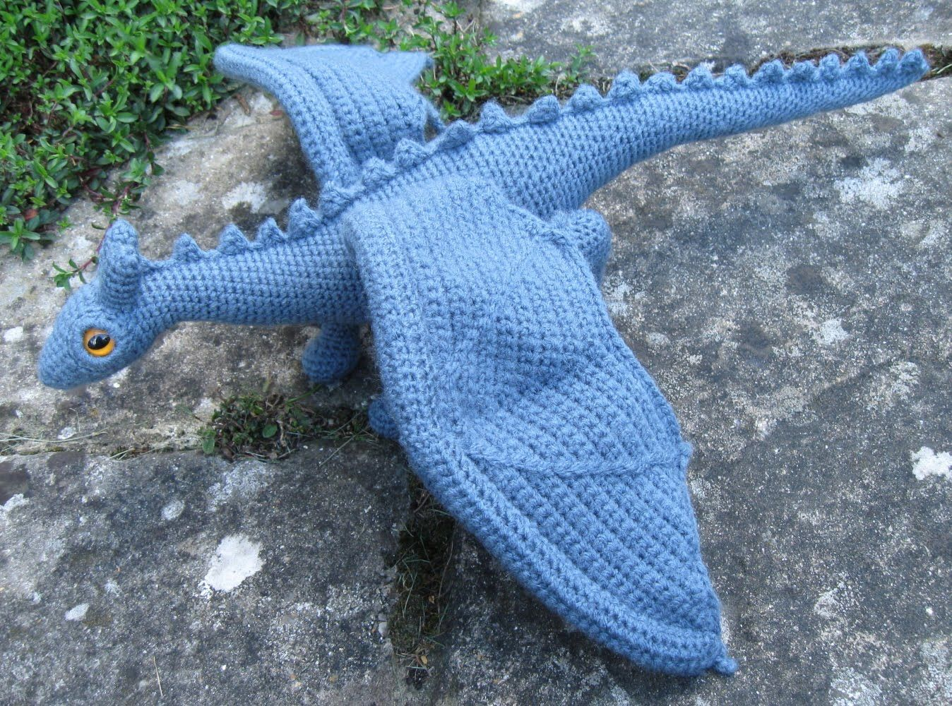 80 best crochet dragons lizards images on pinterest crochet lucyravenscar crochet creatures dragonet pattern bankloansurffo Images