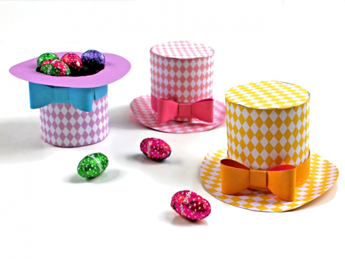 Diamond mini top hats | Pinterest | Paper crafting, Minis and Easter