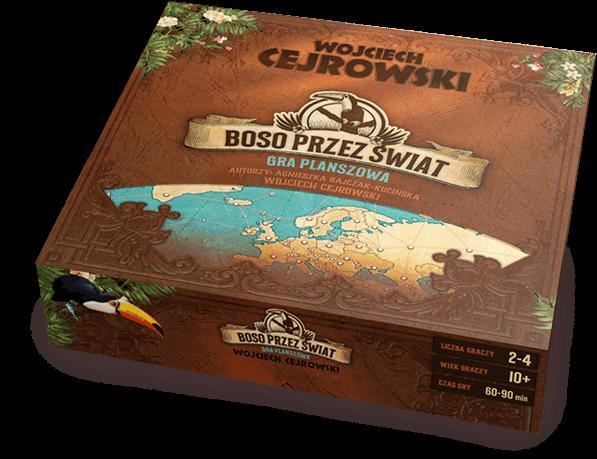 Wojciech Cejrowski Boso Przez Swiat Gra Planszowa Decorative Boxes Games Decor