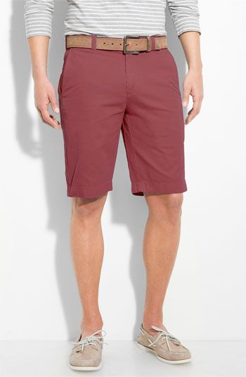 Boat shoes and khaki shorts....nice summer or spring outfit ...