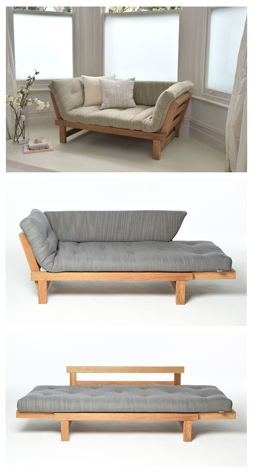 Beau Move Into Your Comfort Zone With Our Space Saving Oak Switch Sofa Bed Which  Offers Three Relaxation Positions For The Price Of One U2013 Sitting, Slouching  And ...