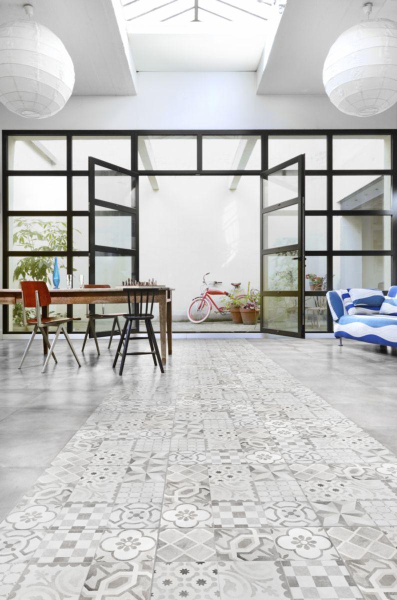 Carrelage Pour Salle De Bain Point P ~ d cor gr s c rame les exclusifs gatsby gris 45×45 cm les exclusifs
