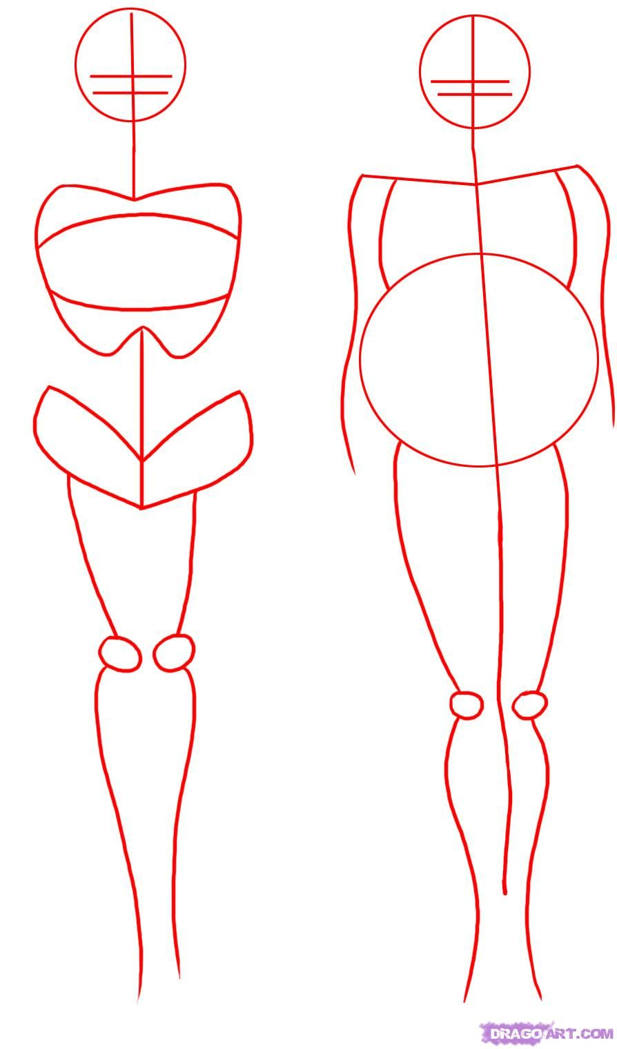 How to draw people step 1 start this step on how to draw fat people by drawing a circle
