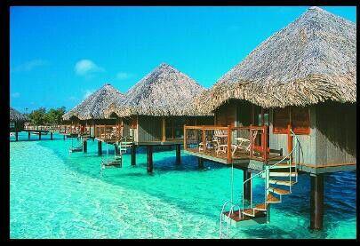Tahiti, a beautiful island with beautiful beaches