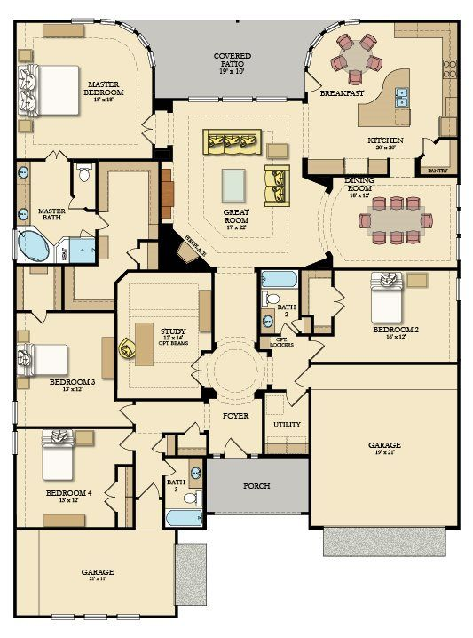 Cappiello New Home Plan in Woodtrace