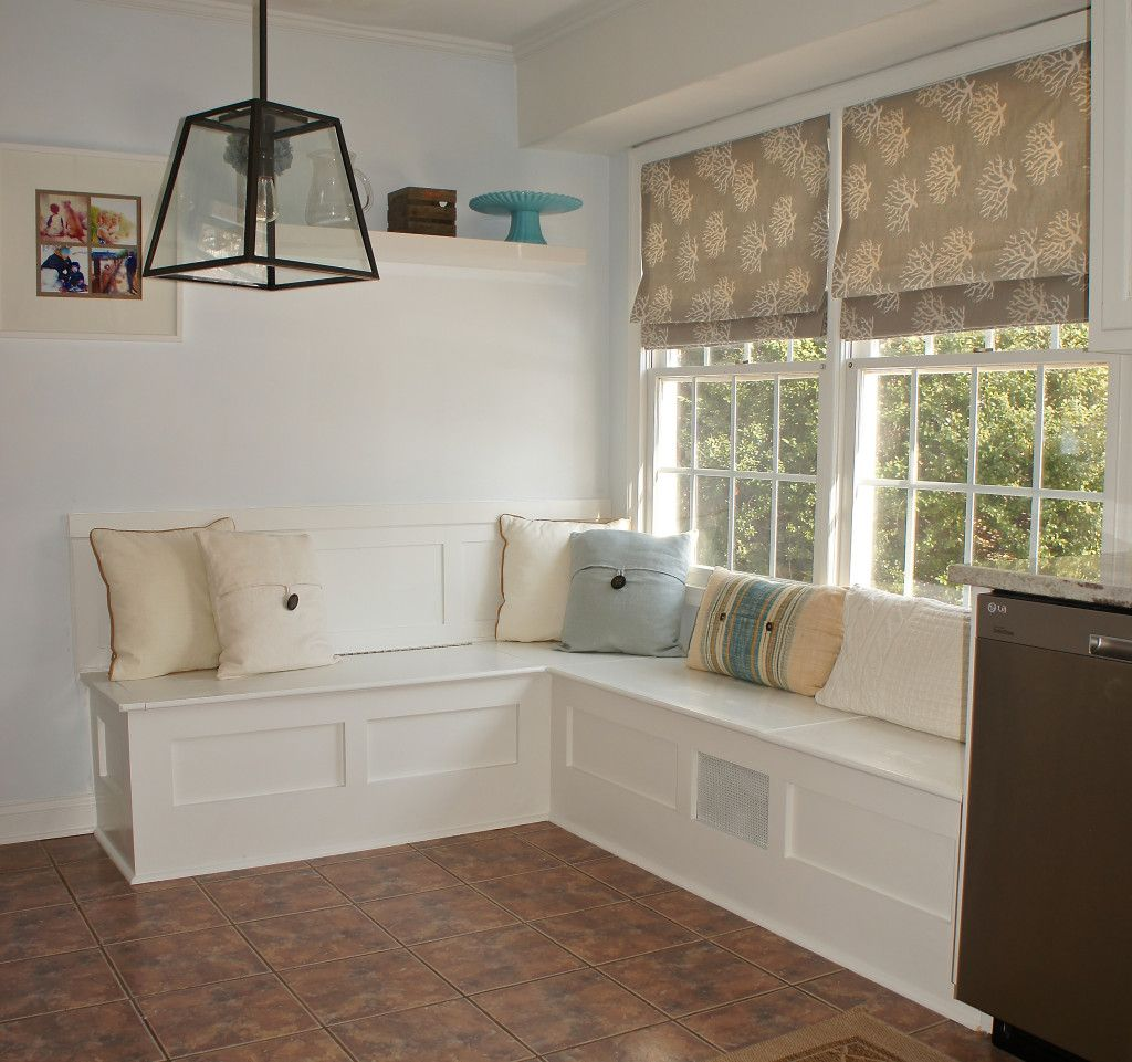 breakfast nook like this for the future playroom along