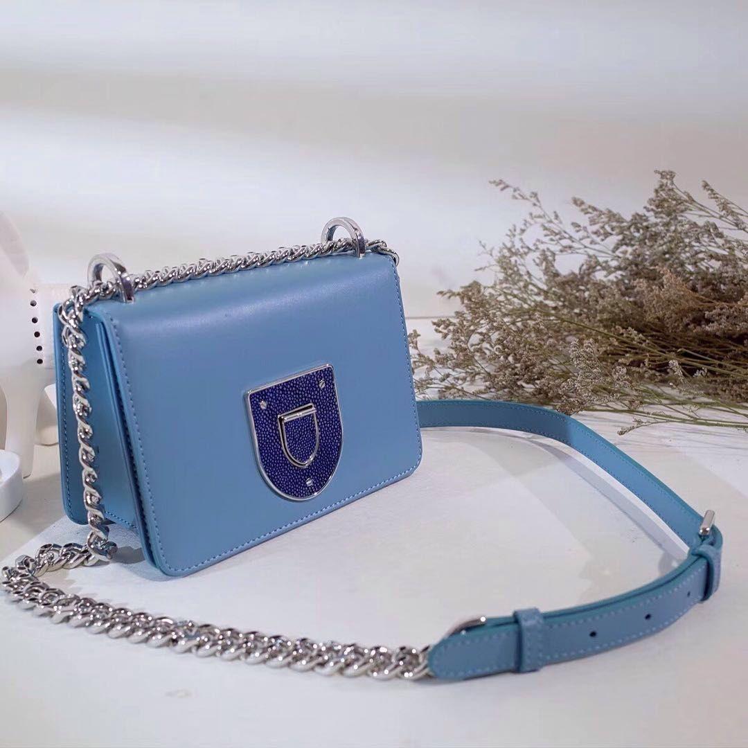934f2b385537 Christian Dior Diorama Perforated Calfskin Mini Bag