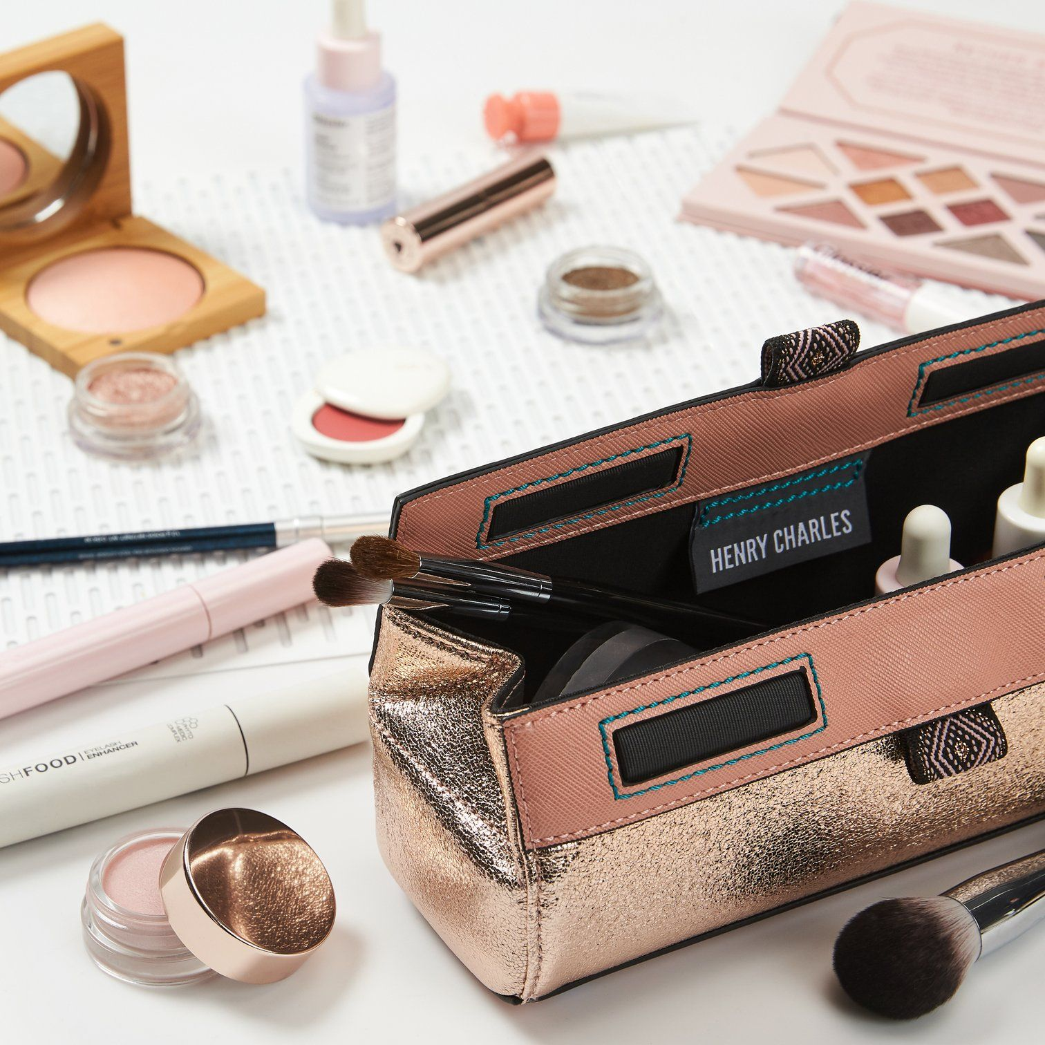 NEW! ROPRO Brush and Makeup Case ROSIE Makeup case