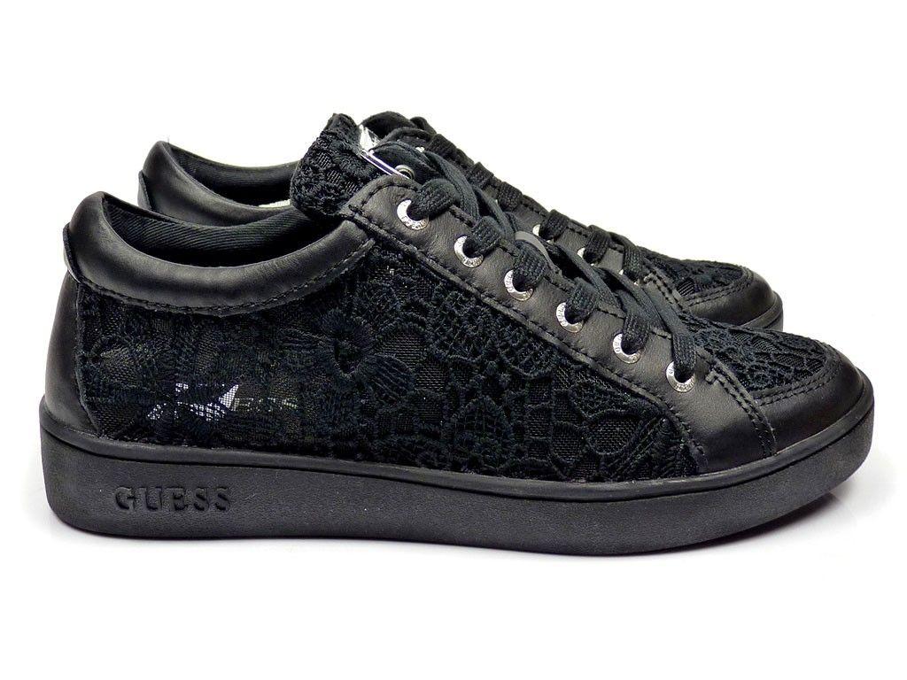Guess Glinna sneakers - zwart