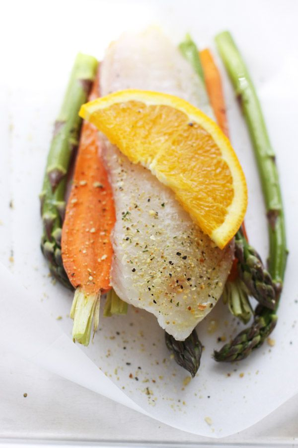 Tilapia and Vegetables en Papillote
