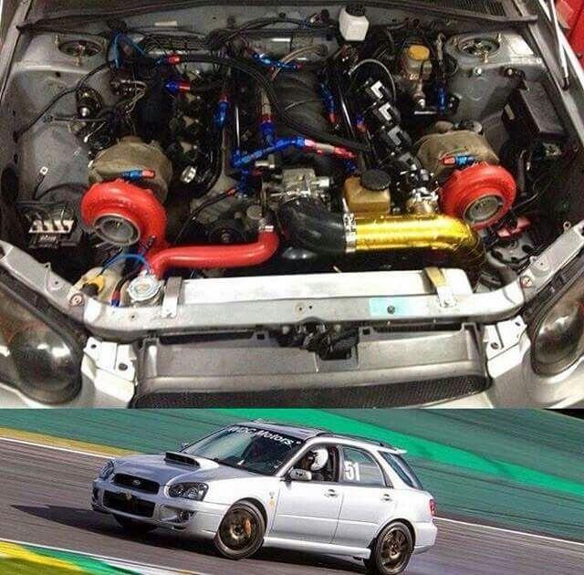 What ? An LS Twin Turbo Powered Subaru ? | DG'S GM'S