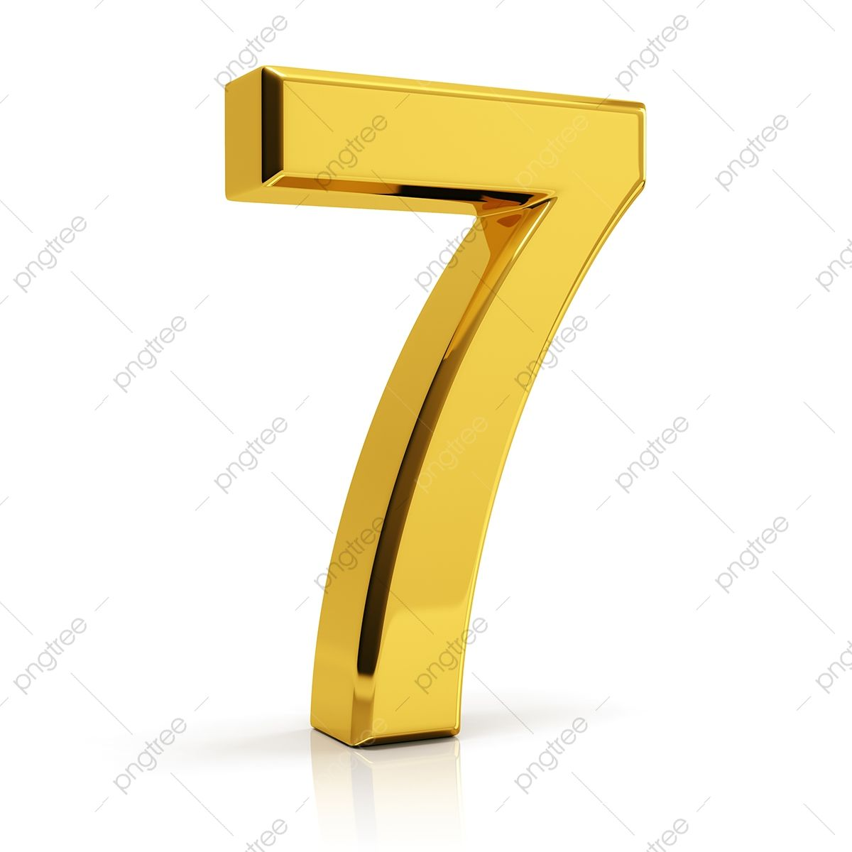 Gold Number 7 7 Number Number 7 Png Transparent Clipart Image And Psd File For Free Download In 2021 Gold Number Clipart Images Clip Art