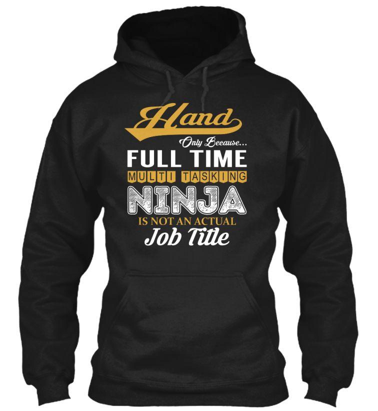 Hand - NINJA #Hand