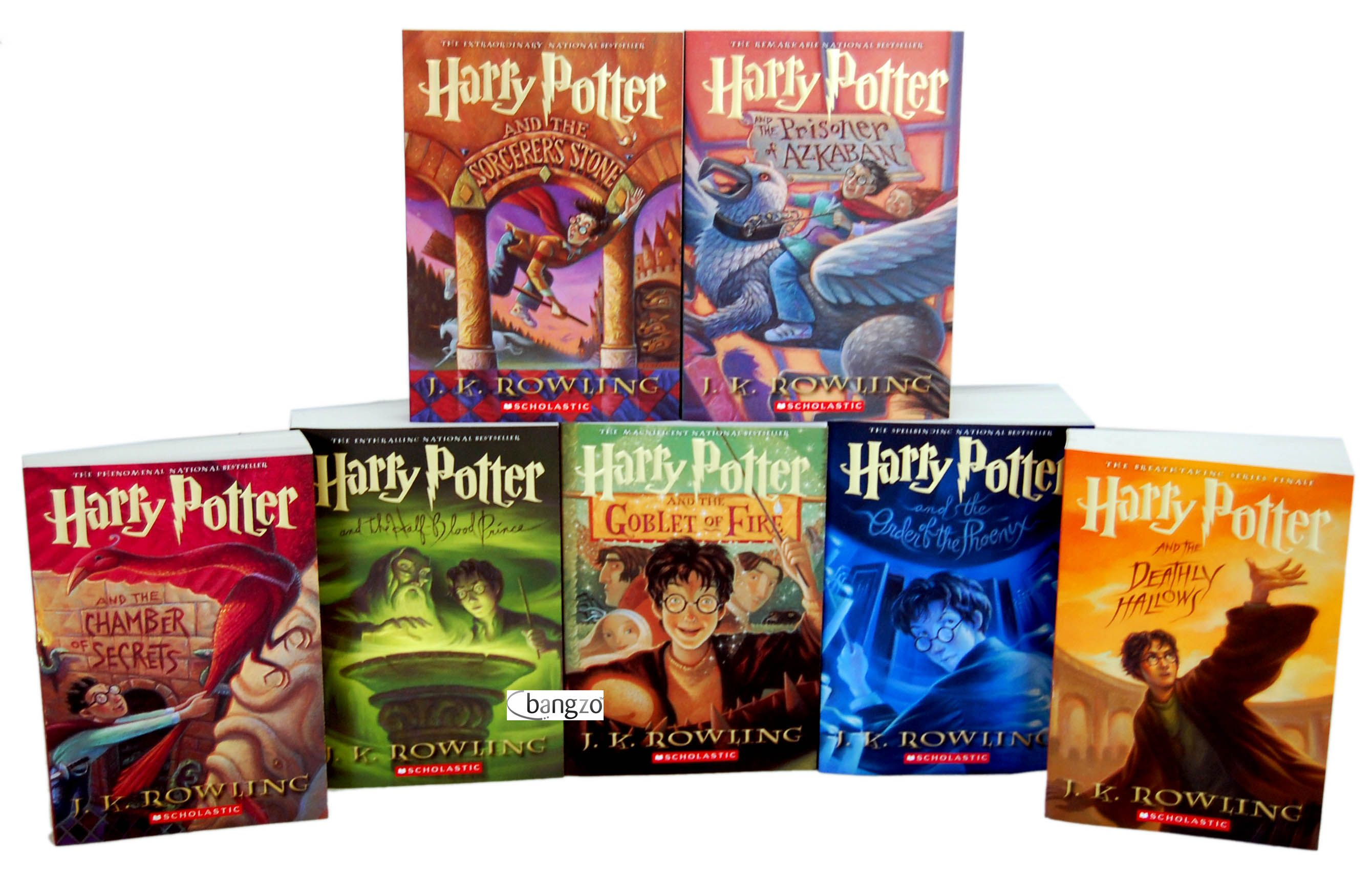 I Love Reading And You Should Too Harry Potter Collection Books