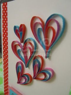 Just Love Crafts: A New card...A New trick too :D
