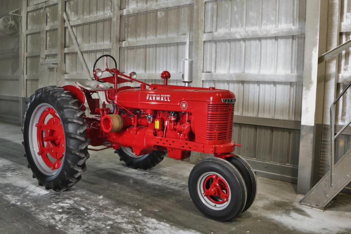 This 1948 Farmall H is a beautiful restore in Marshall, Illinois. You will  find