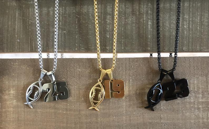 Flatbill Sports Jewelry Baseball Ichthys