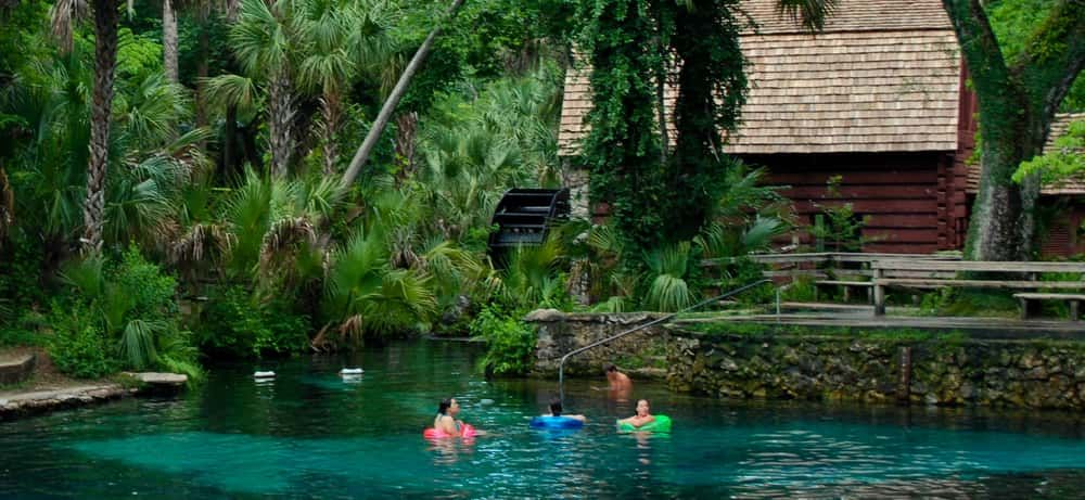 The top five campsites in the state of florida