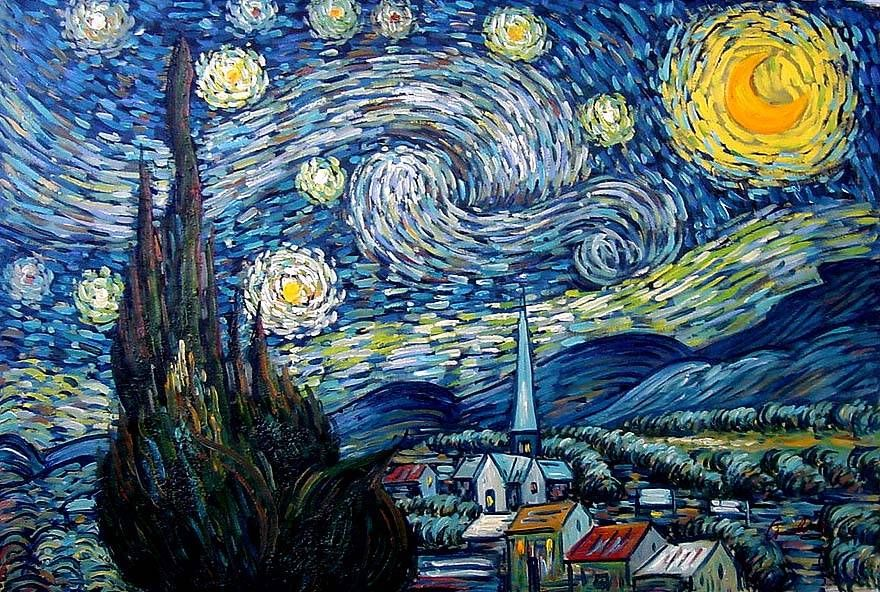 starry night van gogh look i have had another dream he said  starry night van gogh look i have had another dream he said