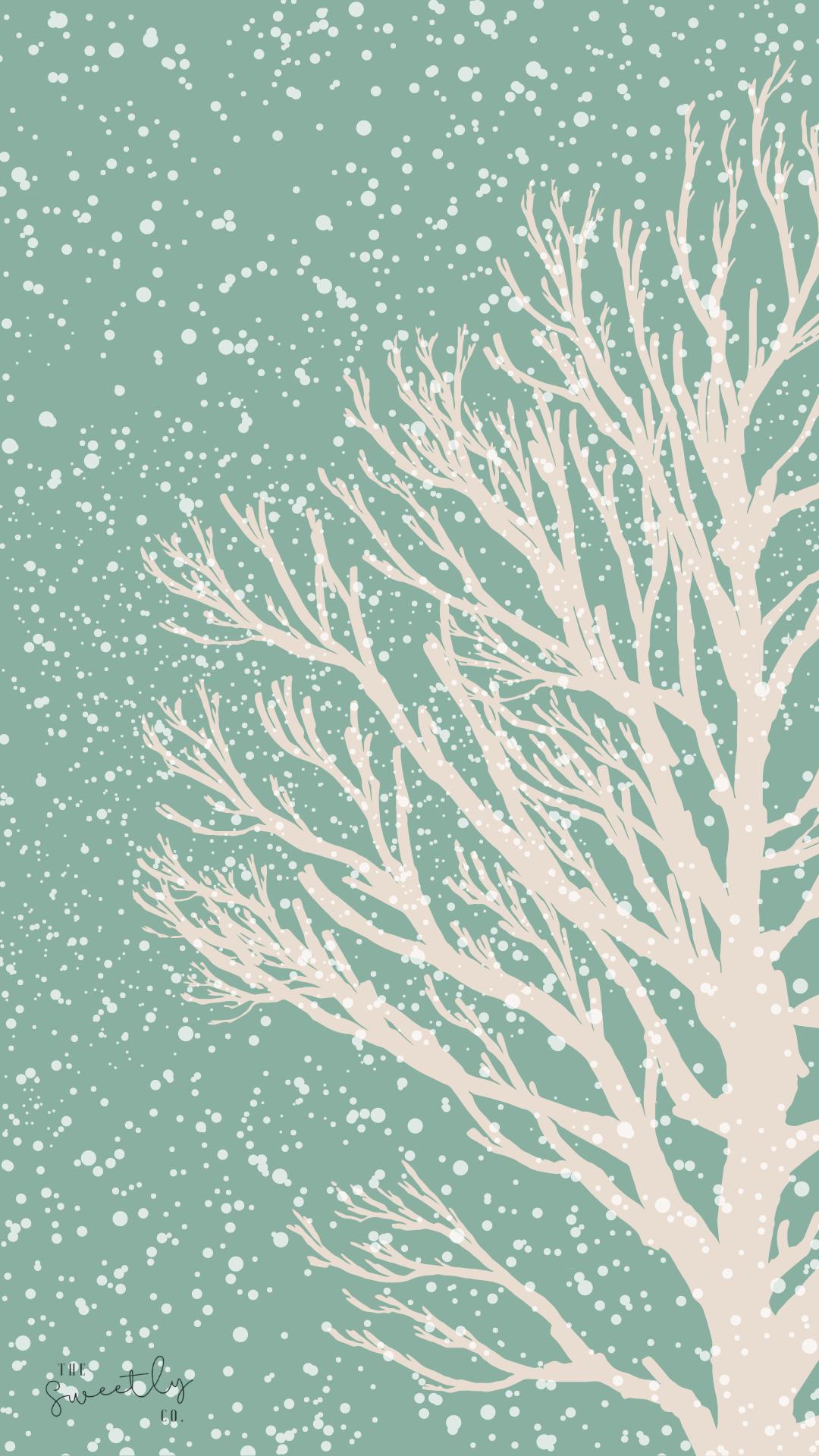Snowy Winter Wallpaper Iphone Android Desktop Iphone Wallpaper Winter Winter Wallpaper Modern Desktop Wallpaper