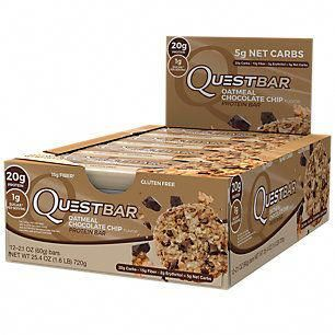 Buy Quest Bar Oatmeal Chocolate Chip 12 Bars From The Vitamin