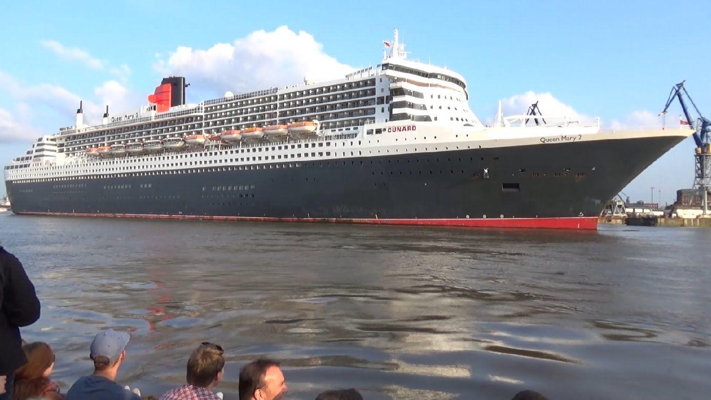 Queen Mary 2 In Hamburg 2021