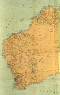 1916 western australia historical map westerns australia and homeland 1916 western australia historical map gumiabroncs Choice Image