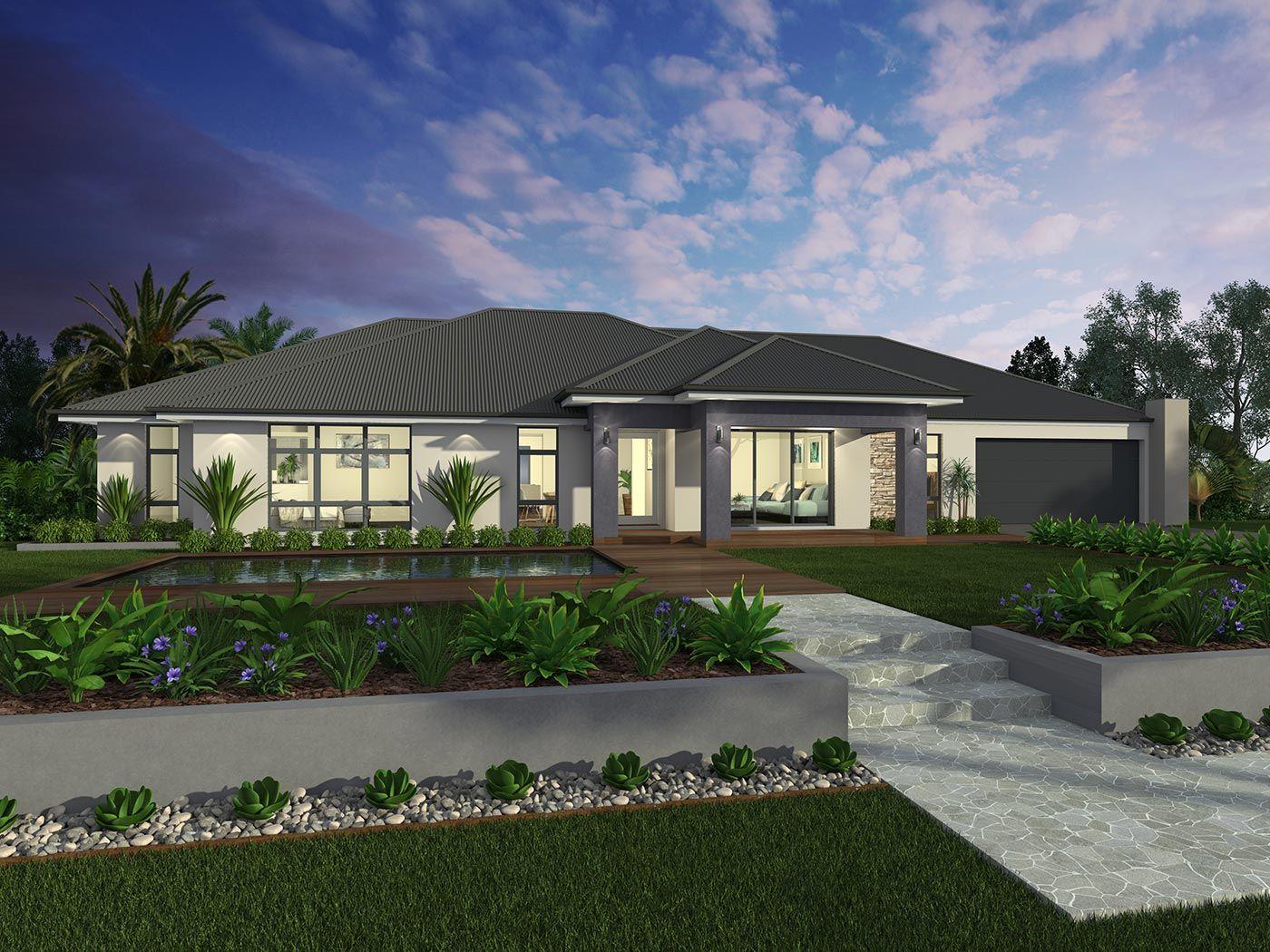 Acreage home design Dakota Savoy