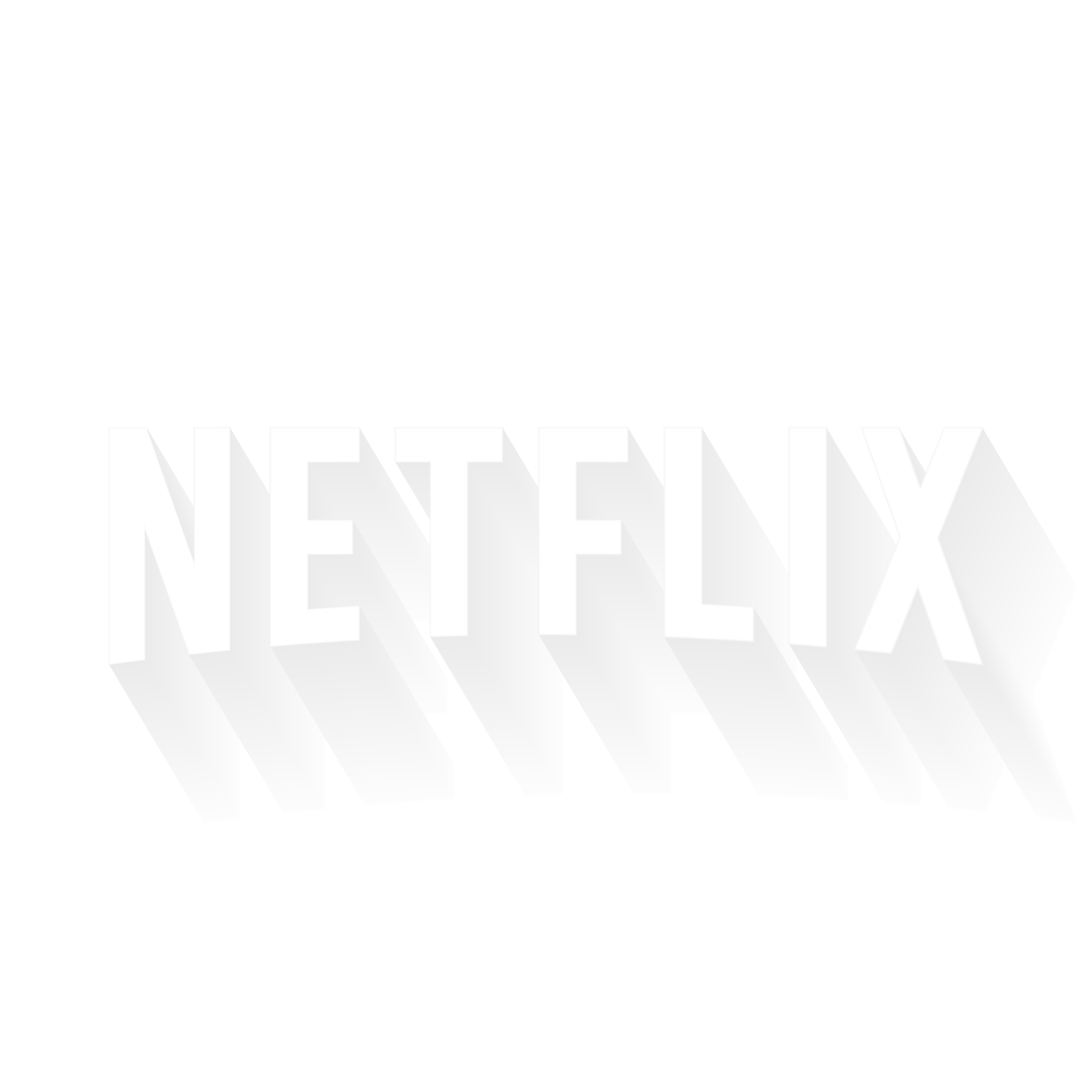 Logo Netflix 3D HD⎪Vector illustrator (ai.)