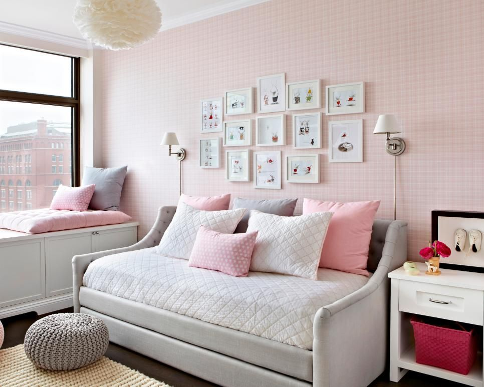 10 Ways To Decorate With Pink Blush Daybed Room Daybed With