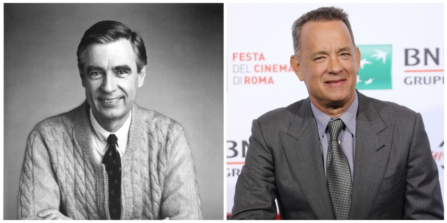 It S Official Tom Hanks Is Playing Mr Rogers In Upcoming Movie You Are My Friend With Images Tom Hanks You Are My Friend Mr Rogers