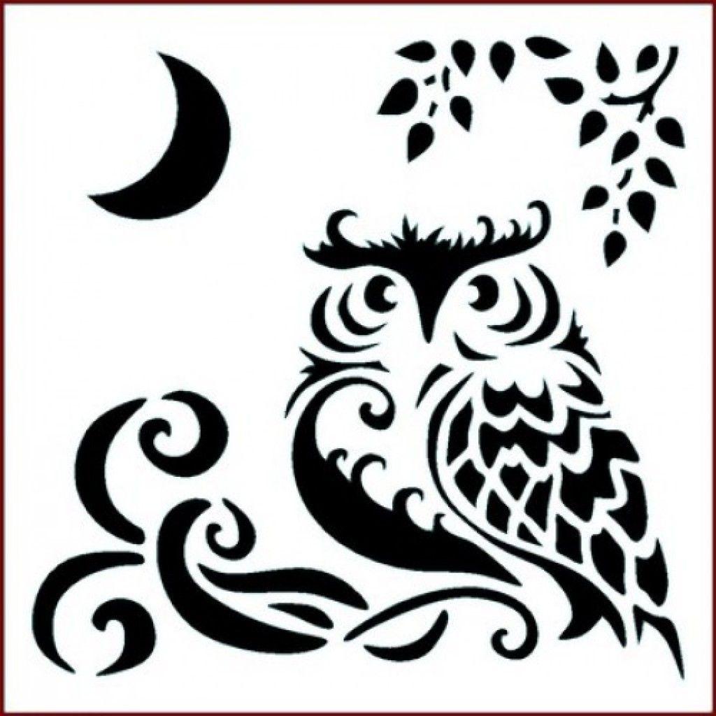 graphic regarding Printable Owl Stencil named absolutely free printable owl stencils stencel Owl stencil