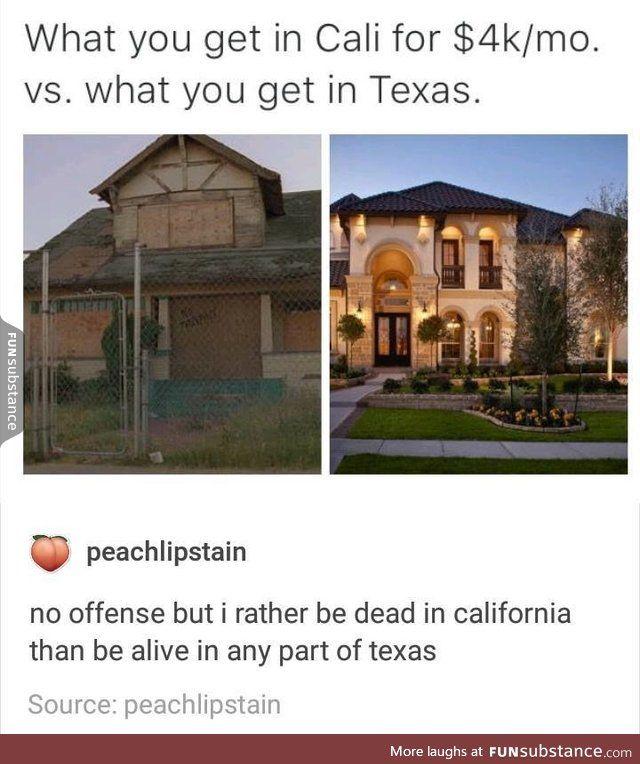California Vs Texas Funsubstance California Funny Usa Memes Funny Memes