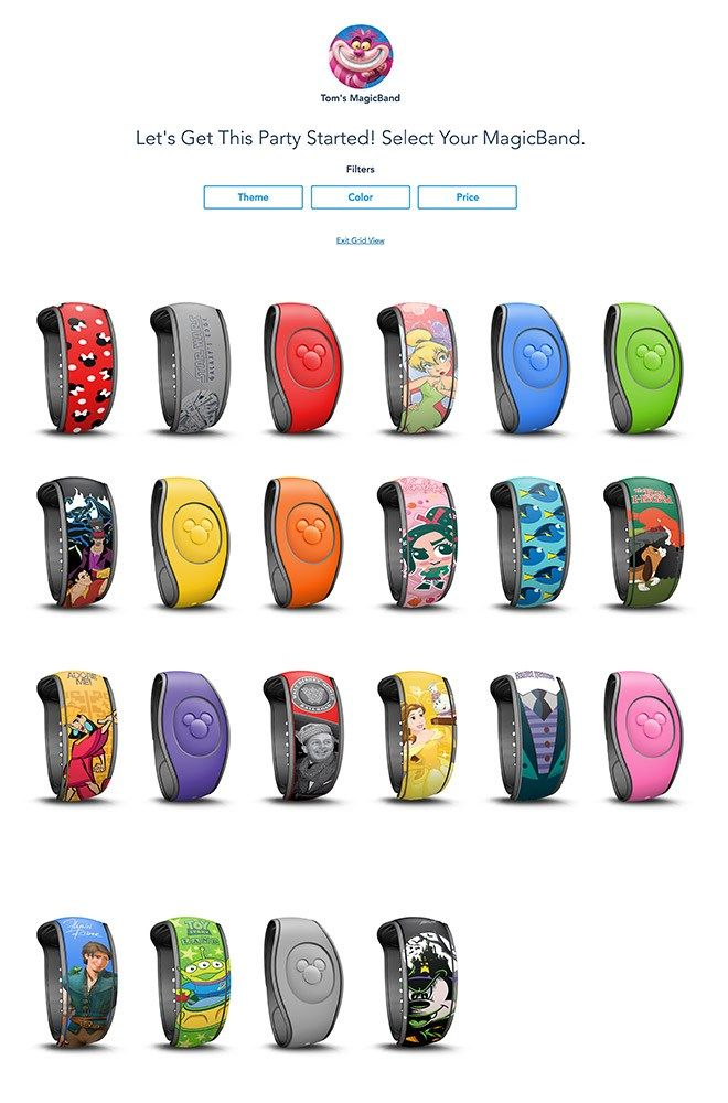 MagicBand Upgrades (Now Unavailable Disney tourist blog