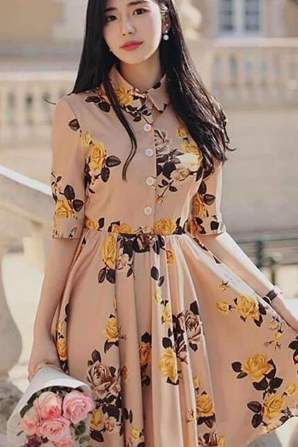 42 Elegant Summer Dresses To Rock This Year Fashion New Trends Elegant Summer Dresses Fashion Stylish Clothes For Women [ 1500 x 1000 Pixel ]