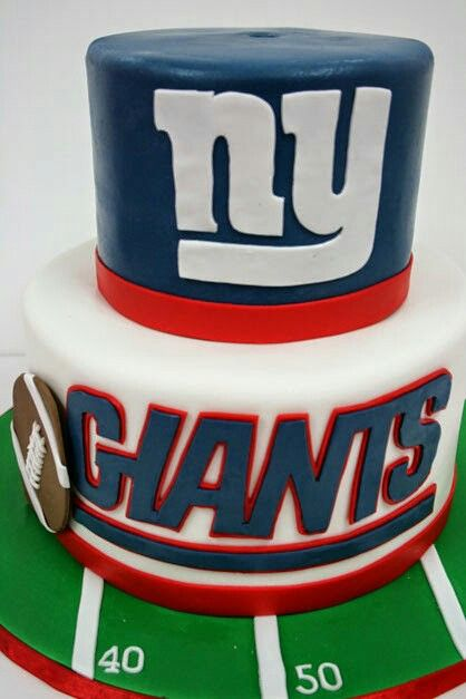 NY Giants Cake … | Food in 2019…