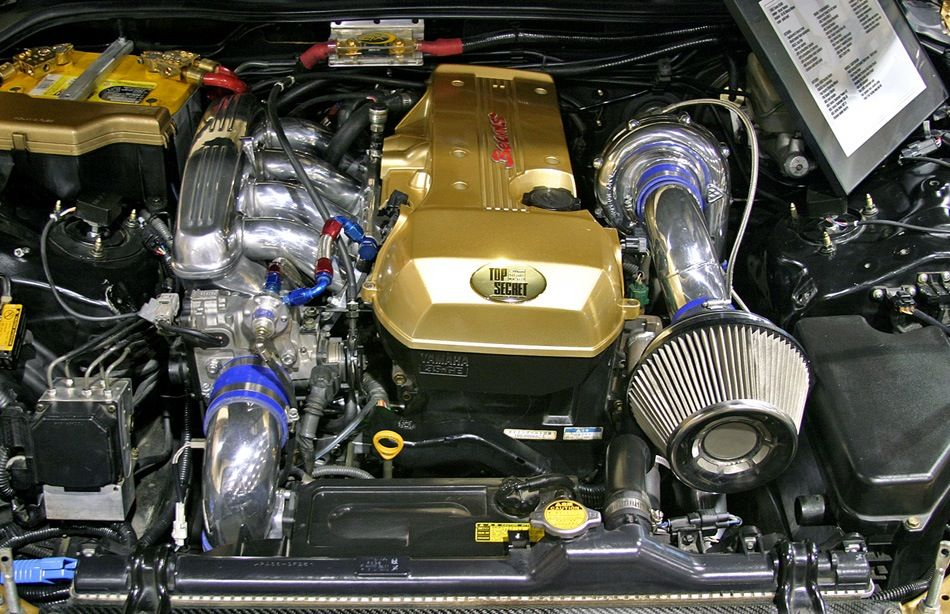 BEAMS 3S-GTE turbo engine from Top Secret Toyota Altezza