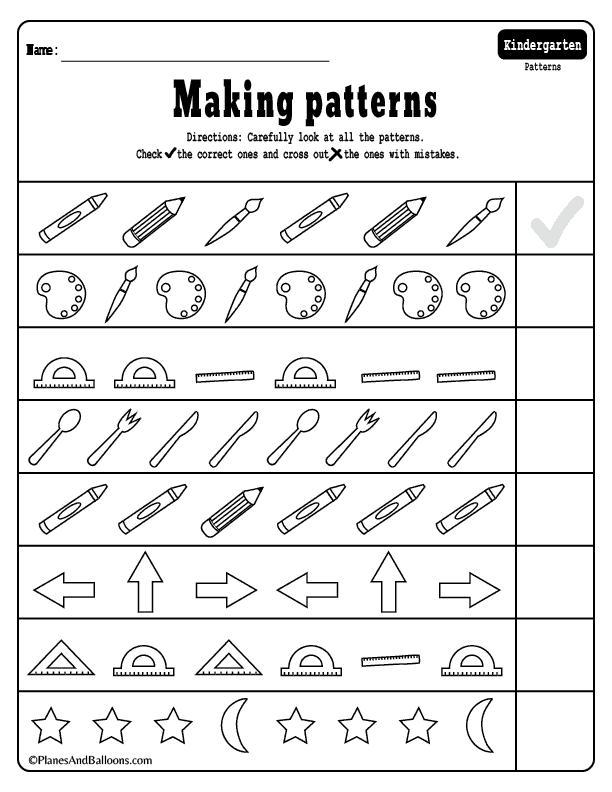 15+ Kindergarten math worksheets pdf files to download for