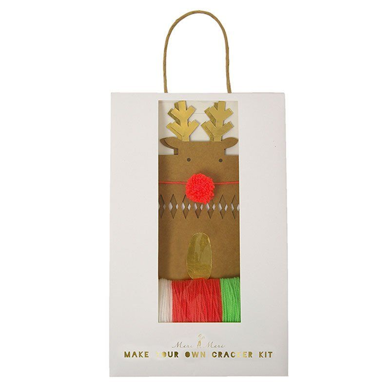 Reindeer make your own crackers kit christmas wonders pinterest reindeer make your own crackers kit solutioingenieria Image collections