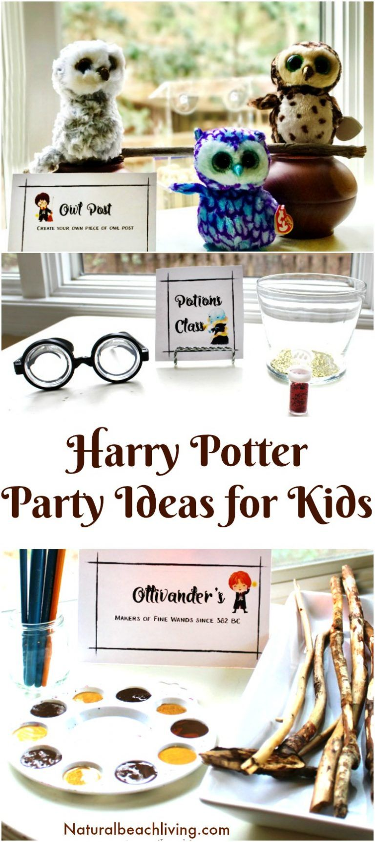 The Best Harry Potter Party Ideas and Printables for Kids | Kids ...