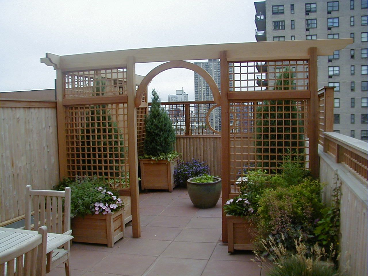 archway and trellis transformation pinterest