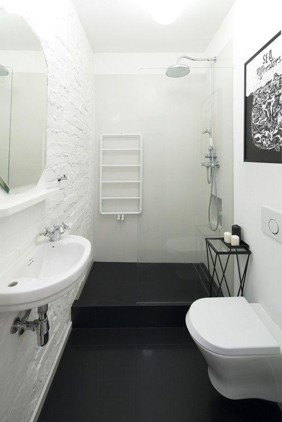 5 Pięknych Białych łazienek